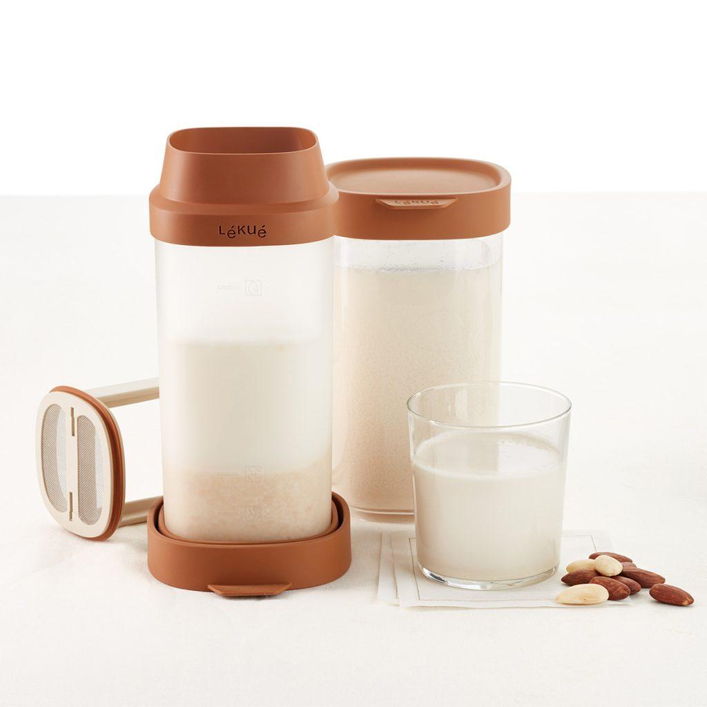 Naczynie do domowego mleka roślinnego