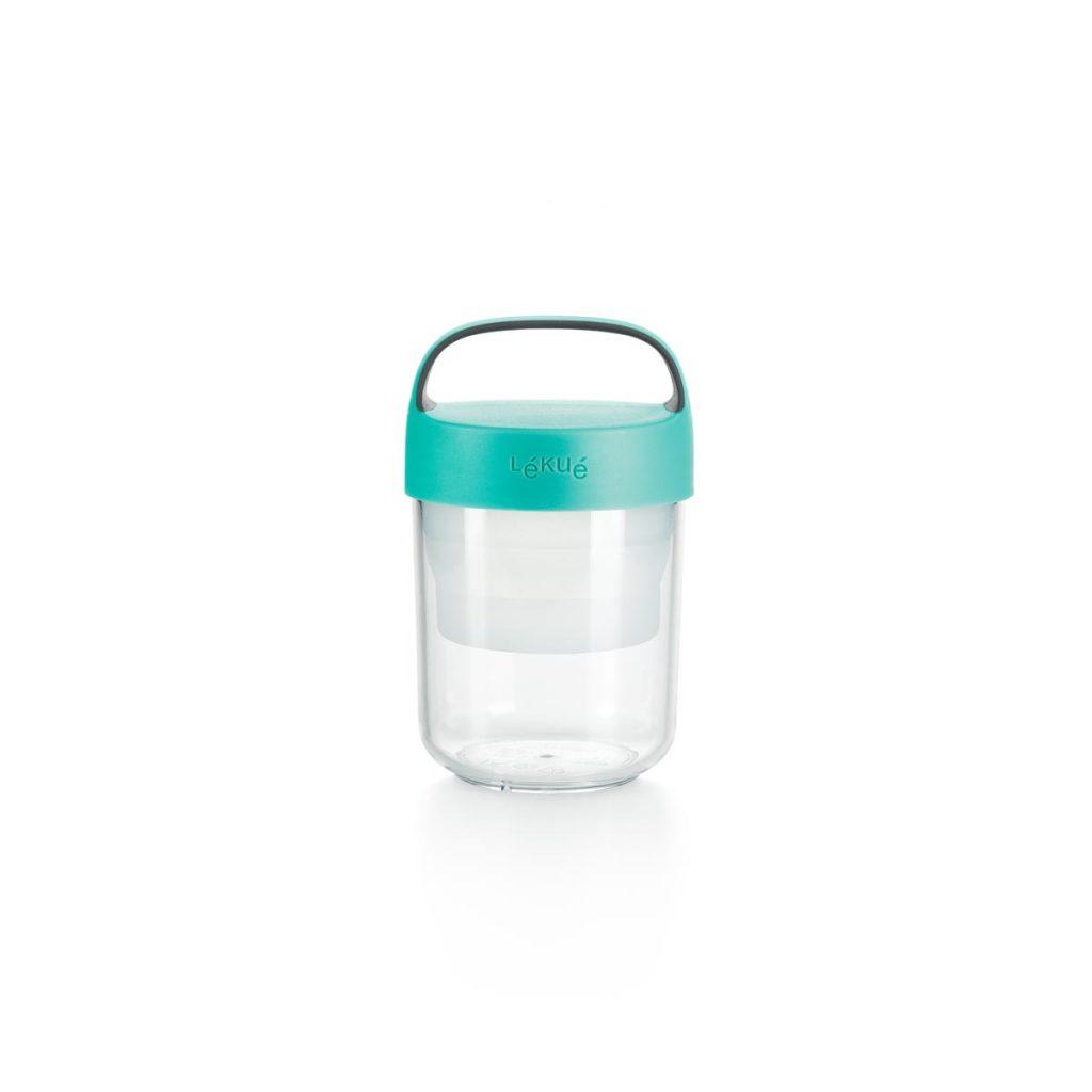 Pojemnik JAR TO GO turkusowy 400 ml