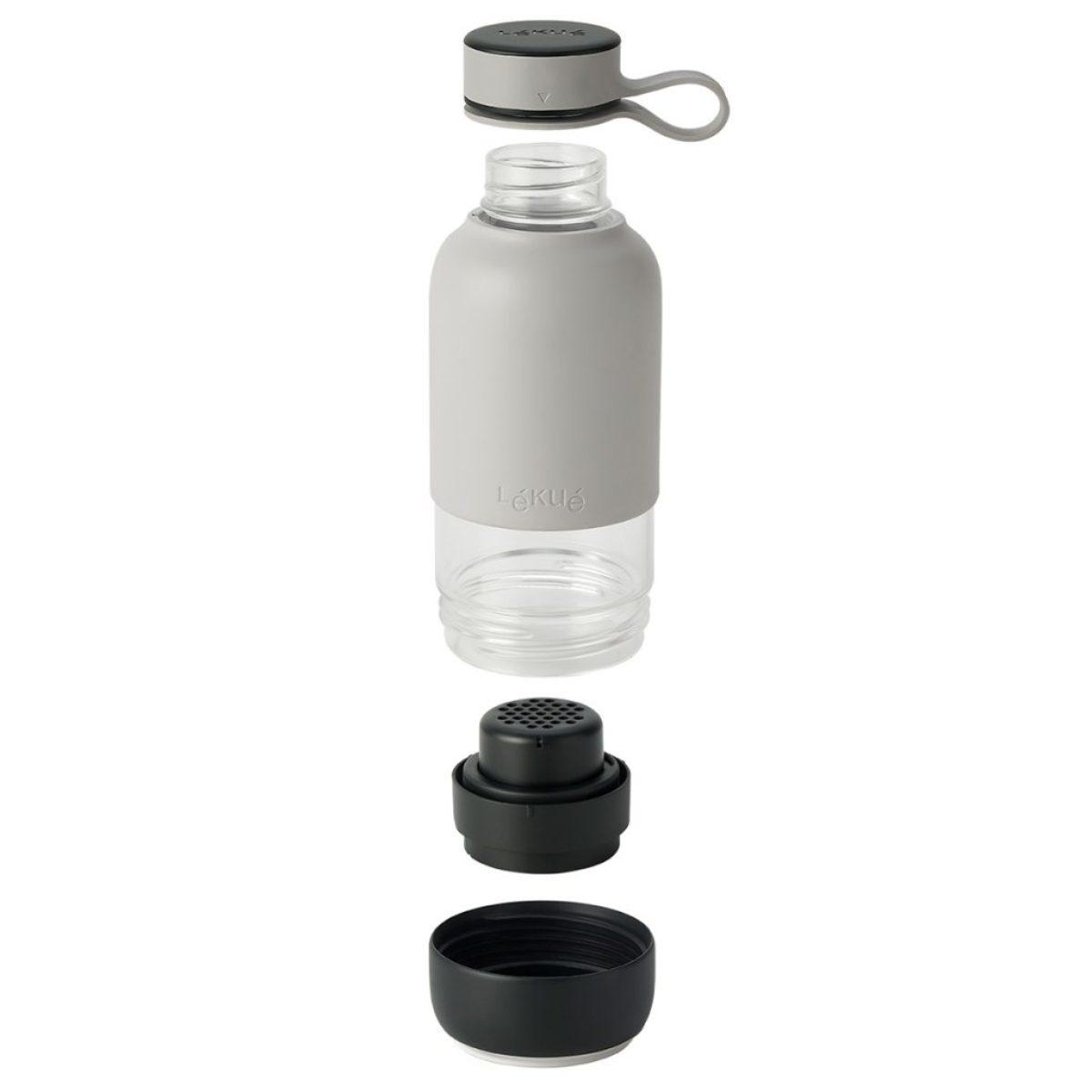butelka szklana z filtrem