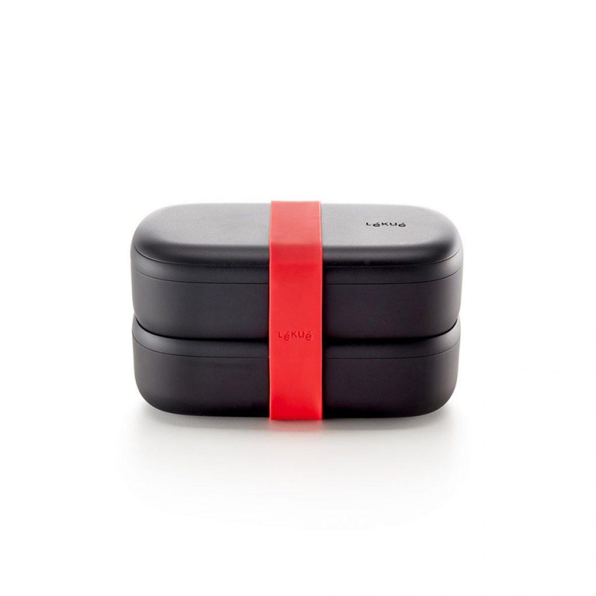 czarny lunch box