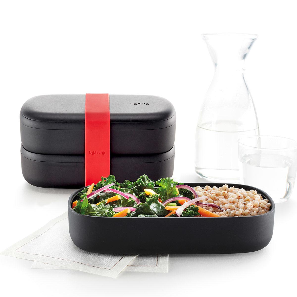 czarny lunchbox
