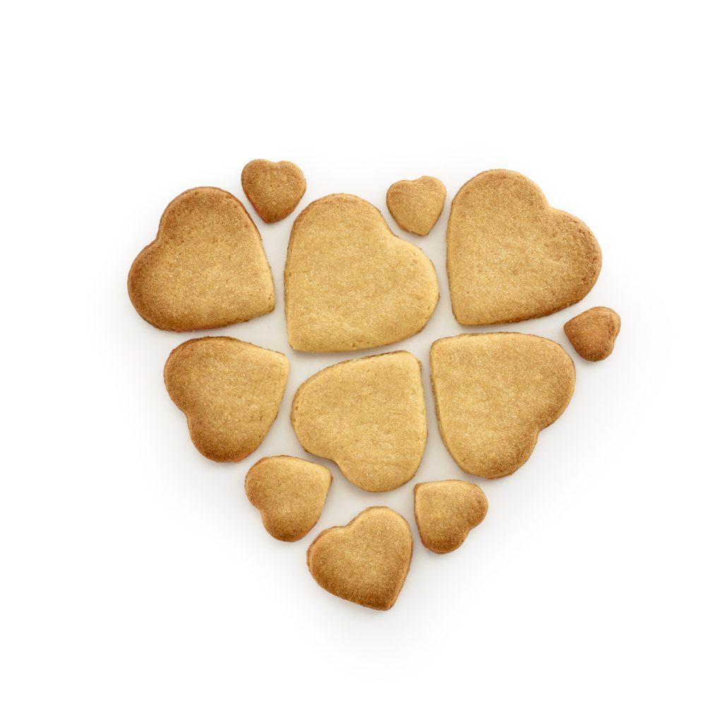 Forma do ciastek PUZZLE HEARTS