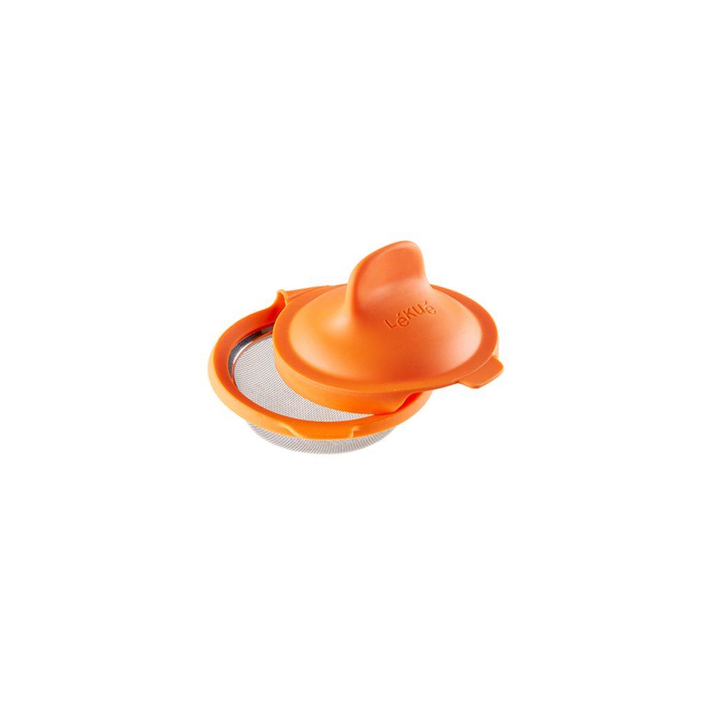 Foremka do jajek w koszulkach - pomarańczowa
