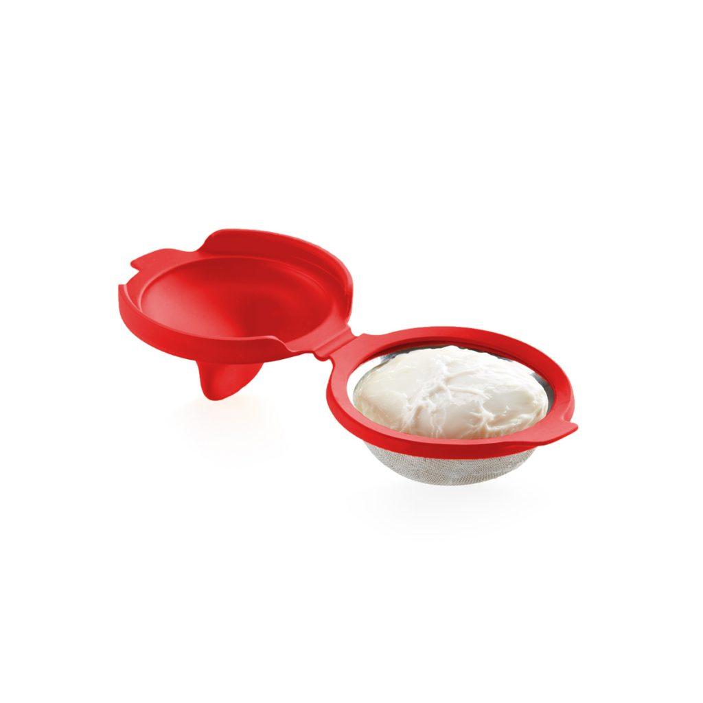 Foremka do jajek w koszulkach - czerwona