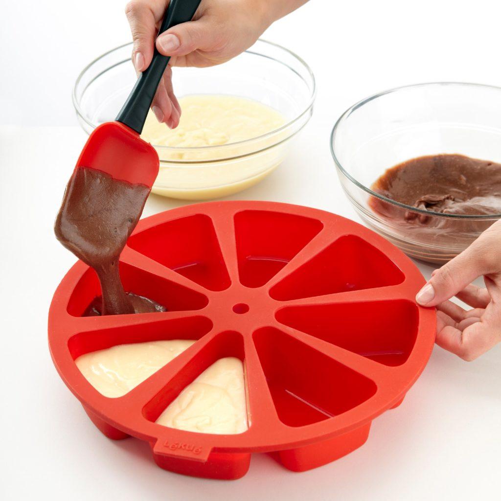 Forma do ciasta w porcjach