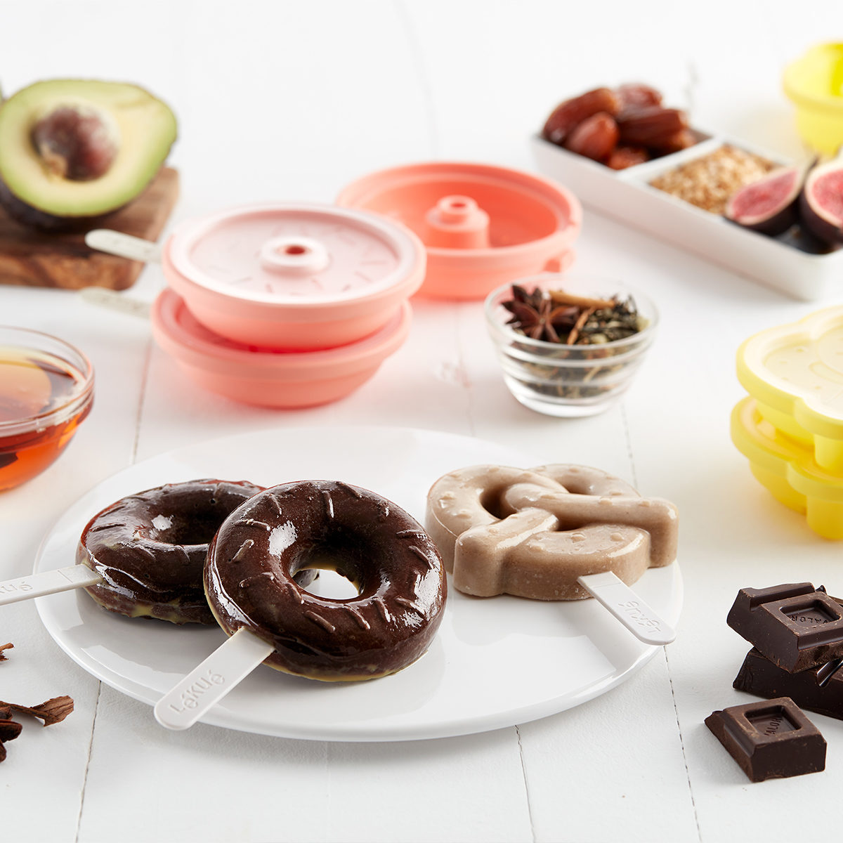 foremki do lodów donut i precel