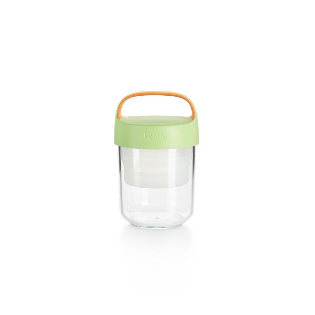 Pojemnik JAR TO GO limonkowy 400 ml
